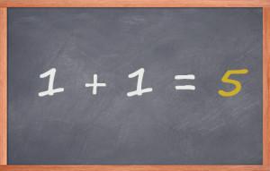 1-1-equals-5
