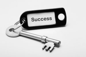 Number one key to success in life